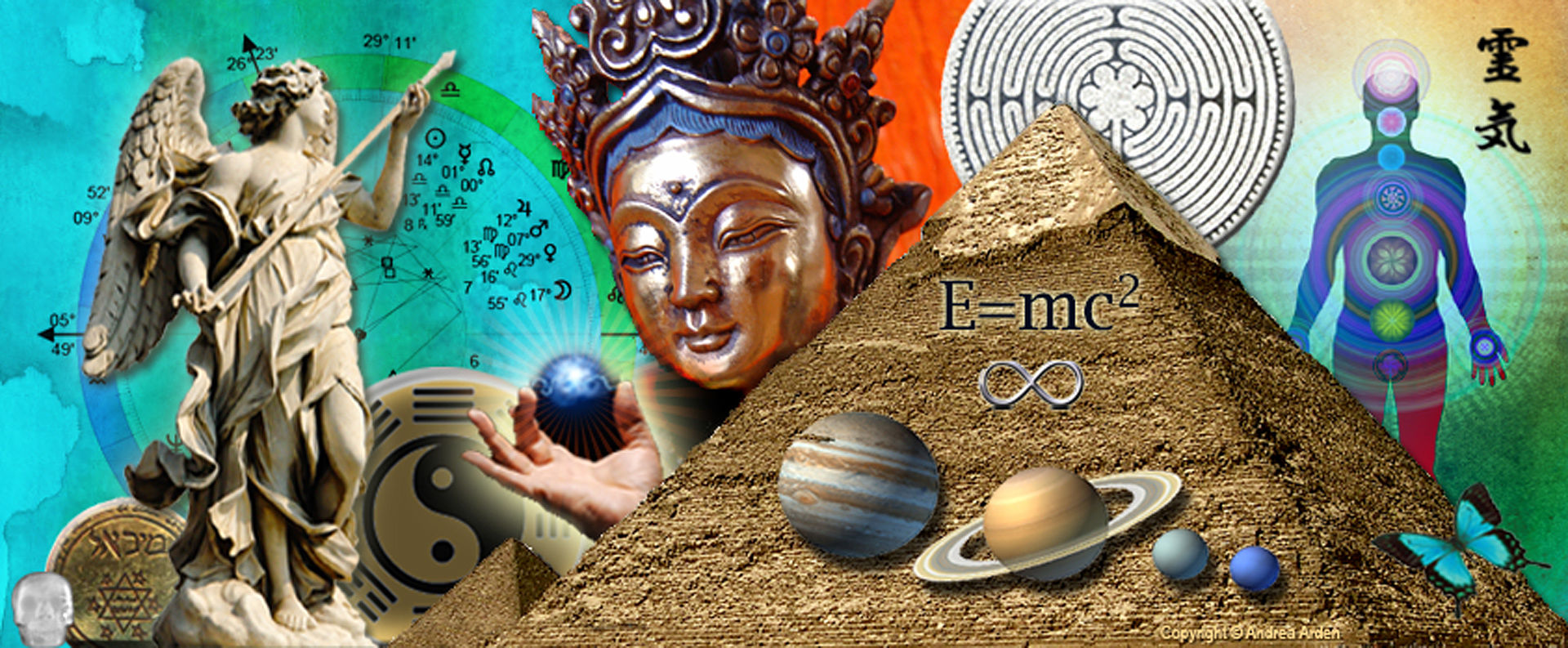 Mystic Empowerment Collage